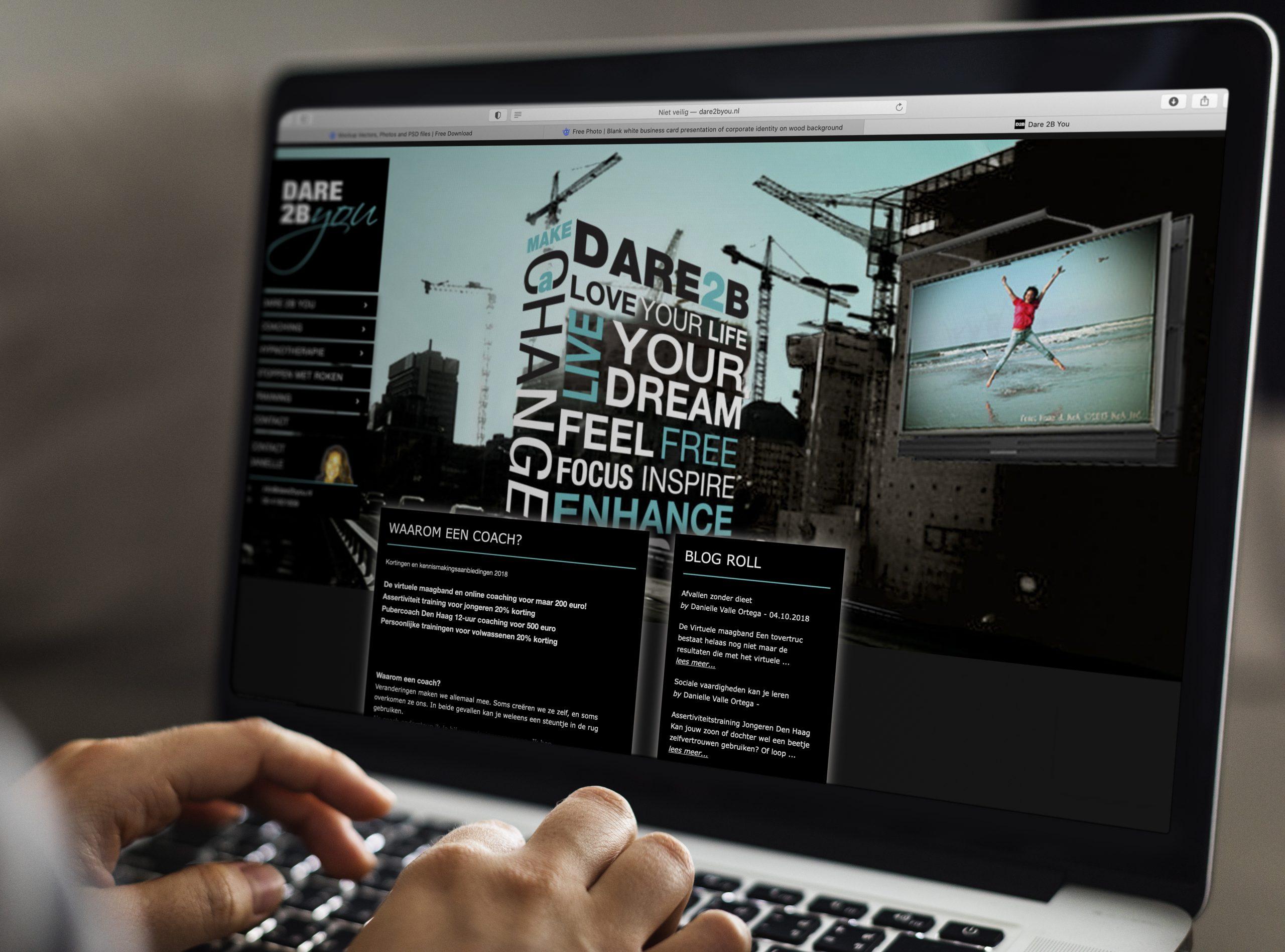 Dare2Byou | Huisstijlontwerp en website