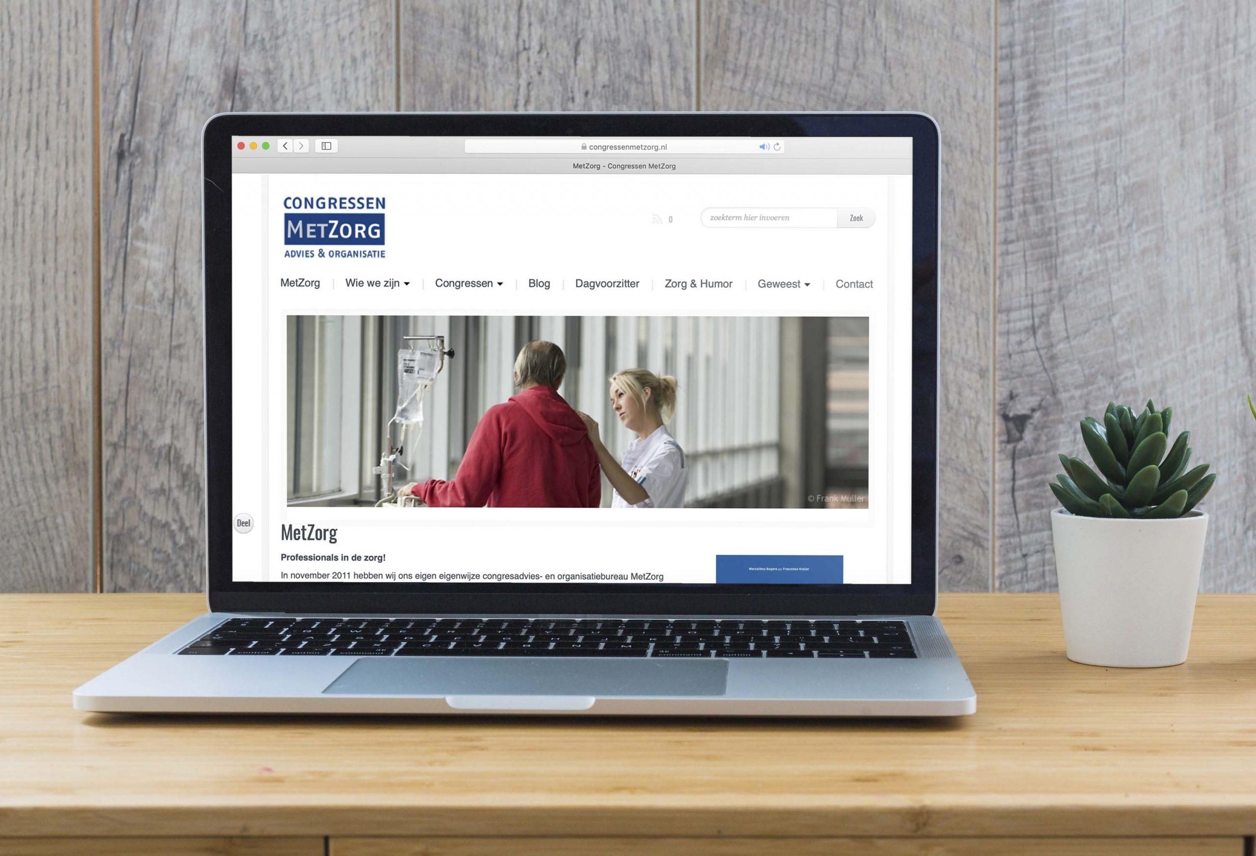 Congressen MetZorg | website en huisstijl